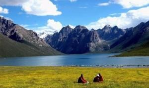Bayan Har Mountains-Qinghai, Cina