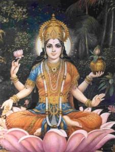 La devi Lakshmi